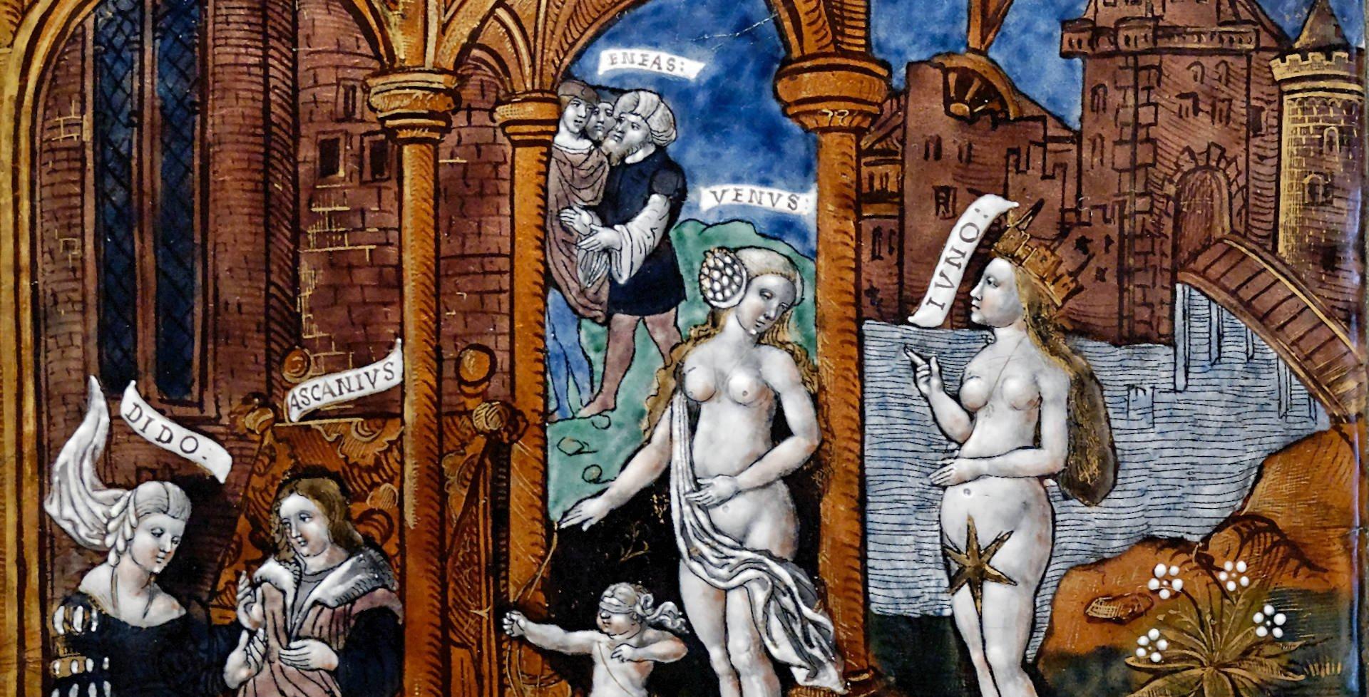 Venus Juno Aeneas Louvre