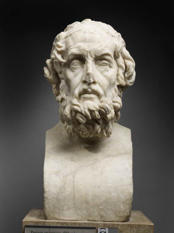 Louvre Portrait Imaginaire D039homere