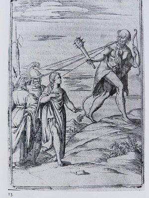Vincenzo Cartari, Le imagini de i Dei, Venise, 1571, gravure de Bolognino Zaltieri