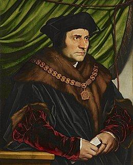 Thomas More par Hans Holbein
